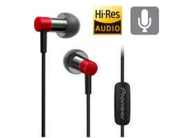 SE-CH3T-R Hi-Res Audio In-Ear Headphone (Red)