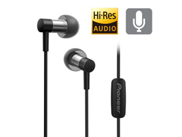 SE-CH3T-B Hi-Res Audio In-Ear Headphone (Black)