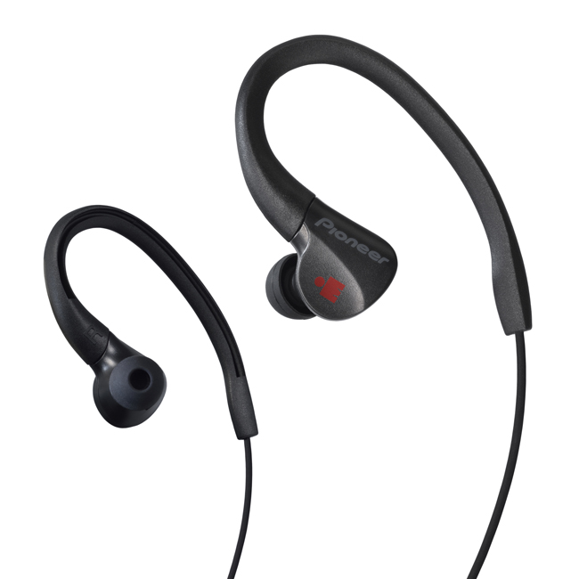 SE-E3M-B IRONMAN<sup>®</sup> Sports Earphones (Black)