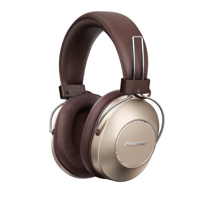 SE-MS9BN-G Wireless Noise-Cancelling Headphones (Gold)