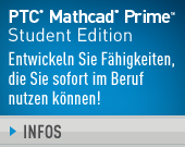 PTC Mathcad Prime 3.1 Student Edition – One Year Term License - 56,00EUR - Jetzt Kaufen!