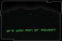 Razer Attitude Tee (Are You Man or Mouse)