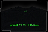 Razer Attitude Tee (Proud To Be a Player)