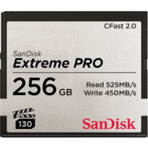 SanDisk Extreme Pro CFast 2.0 (525MB/s) Memory Card - 256GB