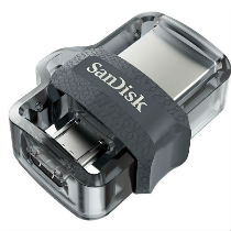 SanDisk Ultra® Dual Drive m3.0 - 256GB (Bulk Packaged)