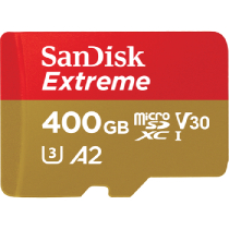 SanDisk Extreme microSD UHS-I Card - 400GB