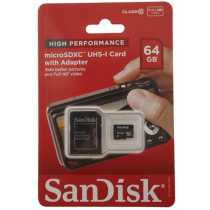 SanDisk microSDXC Card - 64GB (Bulk Packaged)