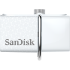 SanDisk Ultra Dual USB Drive 3.0 - 32GB (White)