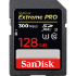 SanDisk Extreme PRO SDXC 300MB/s UHS-II Card - 128GB