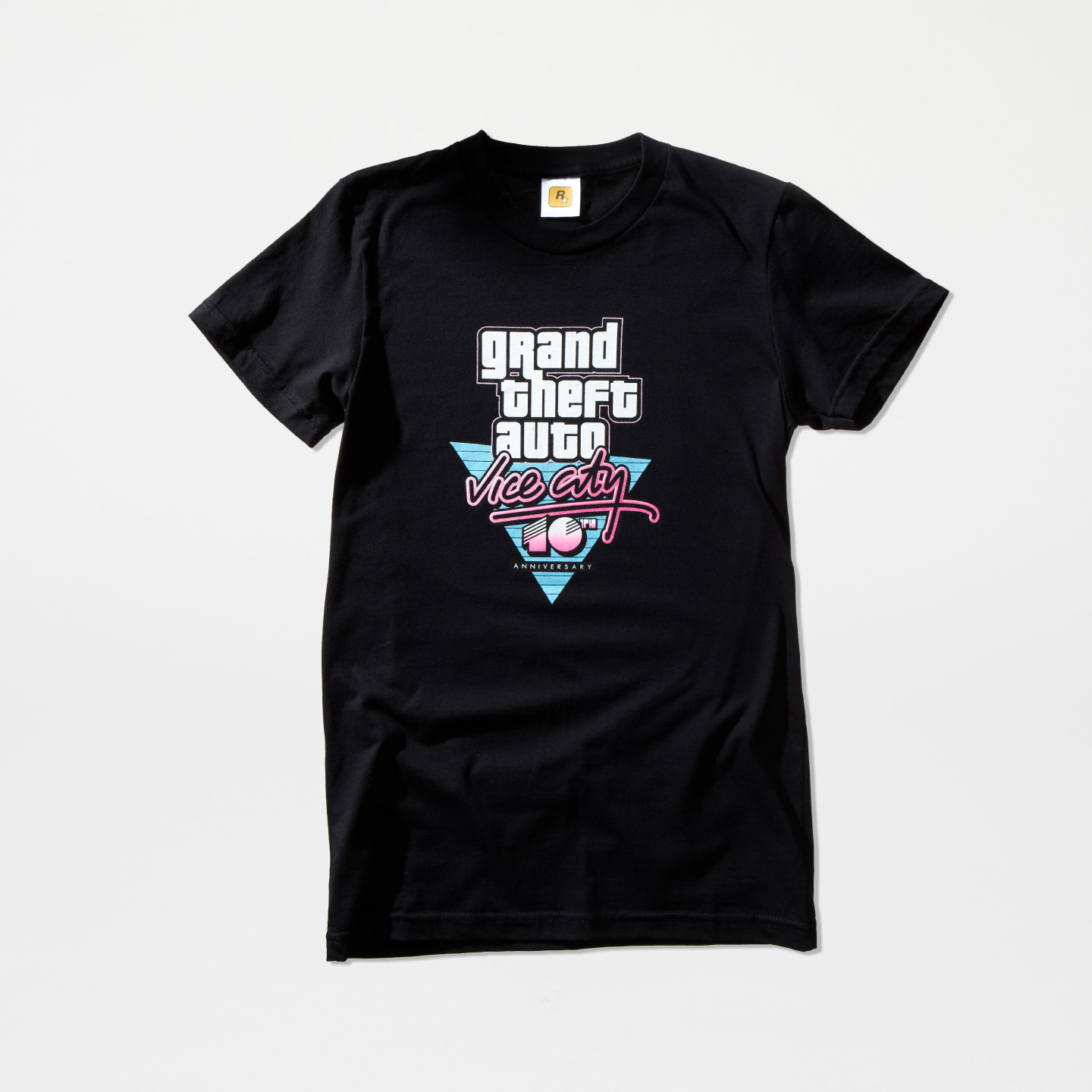 Vice City 10th Anniversary Black Logo Tee