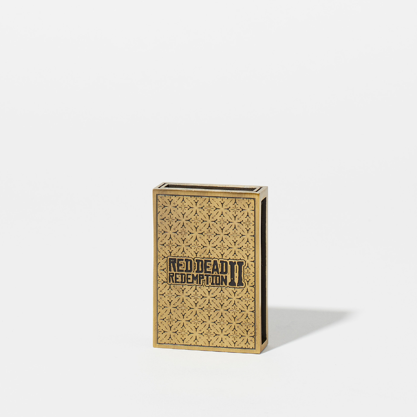 Red Dead Redemption 2 Engraved Match Box Slipcase