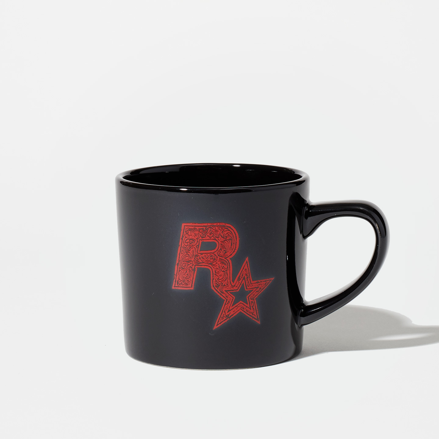 Red Dead Redemption 2 Black Ceramic Mug