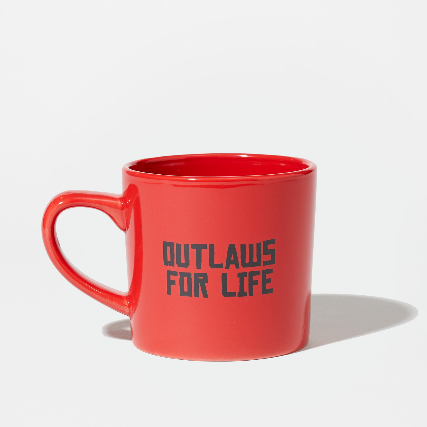 Red Dead Redemption 2 Red Ceramic Mug