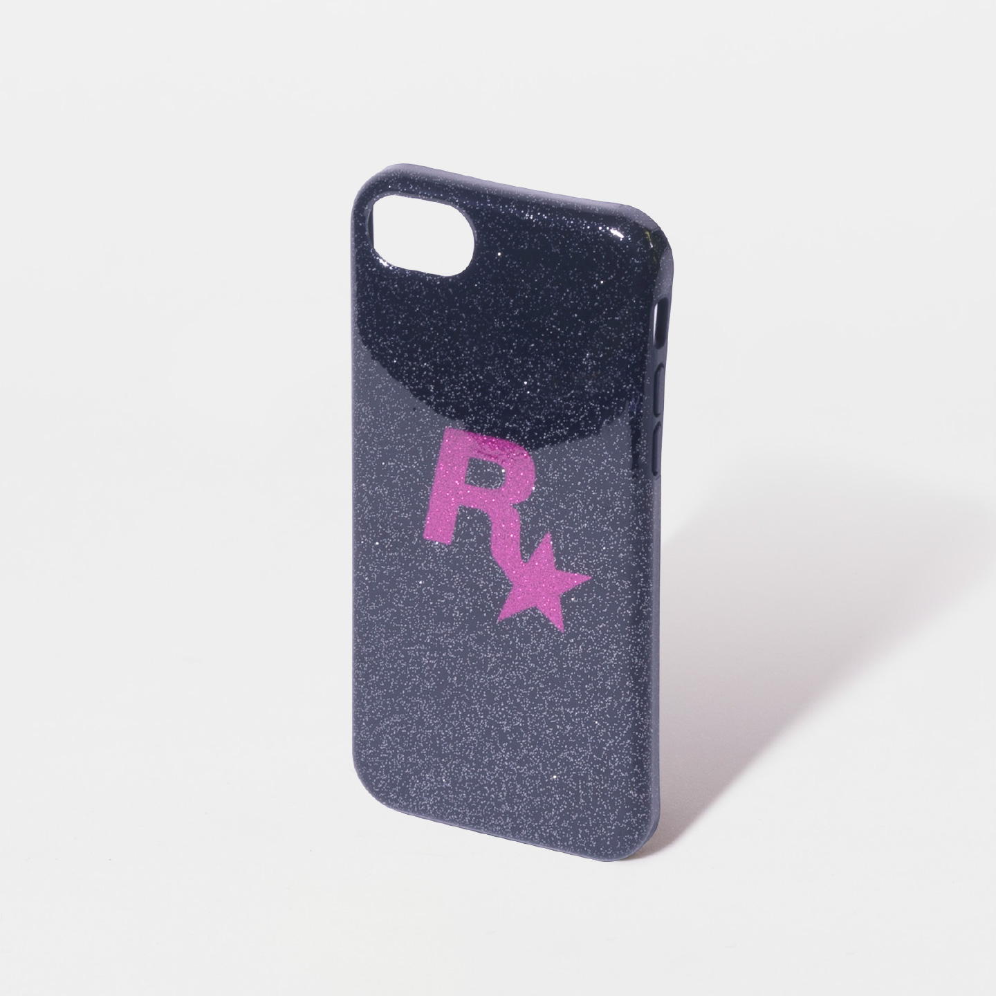 Pink Rockstar Glitter iPhone Case