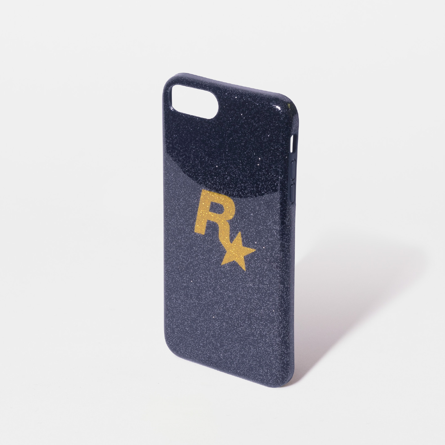 Gold Rockstar Glitter iPhone Case
