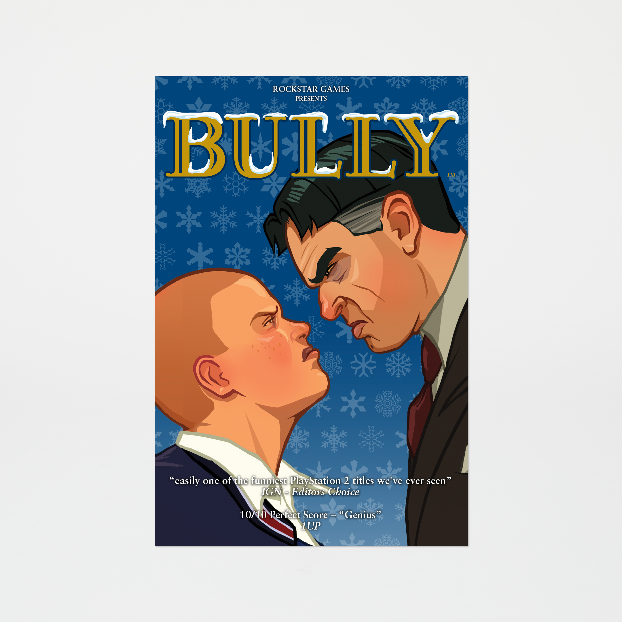 Bully - Jimmy and Principal Poster