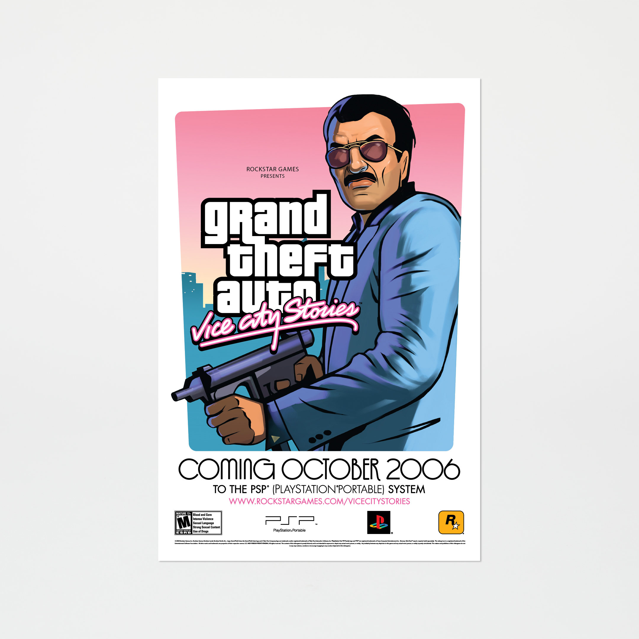 Plakat Grand Theft Auto: Vice City Stories – Diego