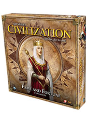 Sid Meier's Civilization Board Game: Fame and Fortune Expansion