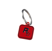Black on Red Rockstar Games Logo Keychain