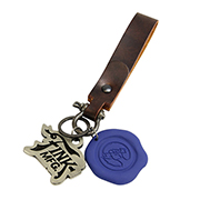 Bioshock Infinite Shock Jockey PVC Wax Seal Keychain