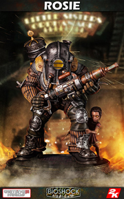 Big Daddy Rosie Statue ¼ Scale by Gaming Heads