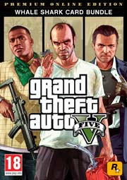 The Grand Theft Auto V: Premium Online Edition & Whale Shark Card Bundle