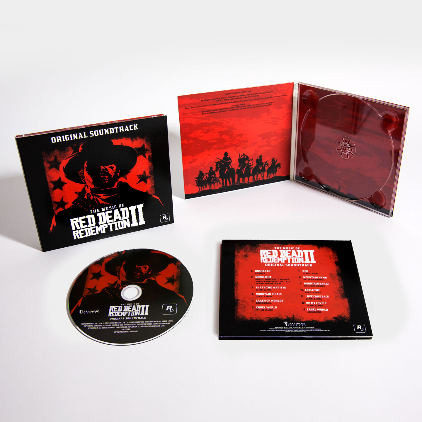 The Music of Red Dead Redemption 2: Original Soundtrack CD