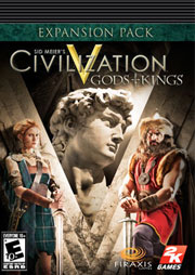 Sid Meier's Civilization V: Gods and Kings (Brazil)