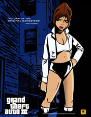 Grand Theft Auto III - Misty Poster
