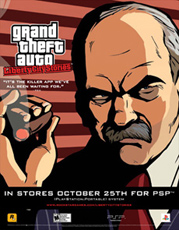 Grand Theft Auto: Liberty City Stories – Salvatore Poster