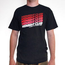 Midnight Club Los Angeles 'Retro' Tee