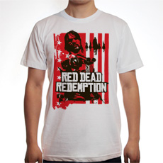 Red Dead Redemption Marston Outlaws Tee