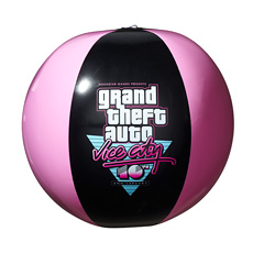 Vice City 10th Anniversary Beach Ball