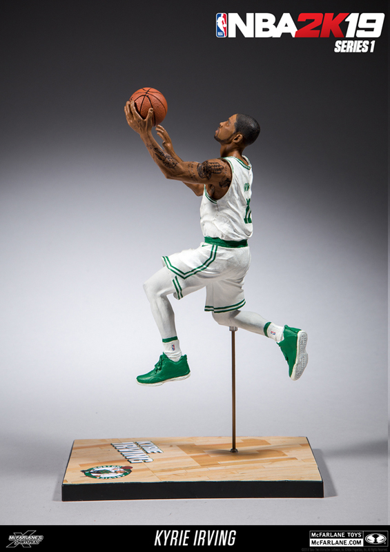 9c59915c0ea0 ... it was Irving s big three pointer late in Game Seven of the 2016 NBA  Finals that secured his first NBA title. Irving is featured in the Celtics  white   ...