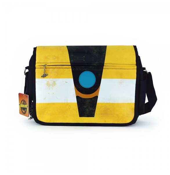 The messenger bag is made out of durable polyester c0d372d45b068
