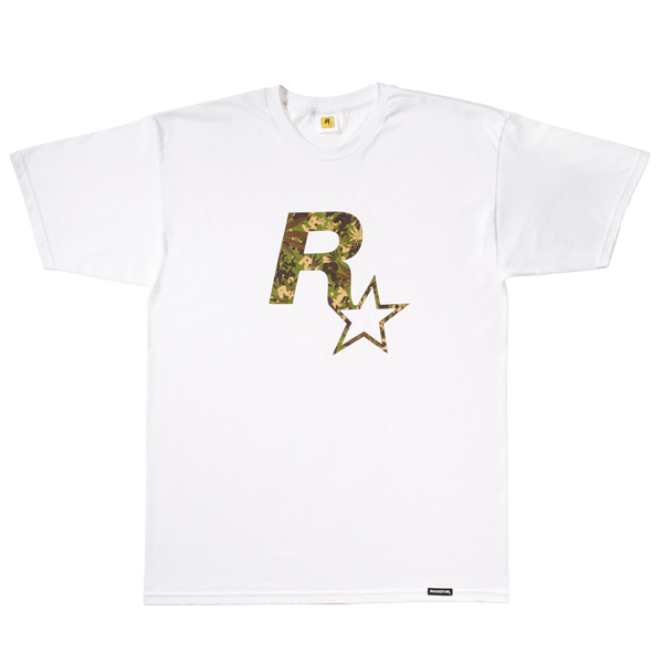 e4814acb Small Rockstar Games logo below the neckline on the back • Rockstar Games  pull tag at the waist • Also available in black