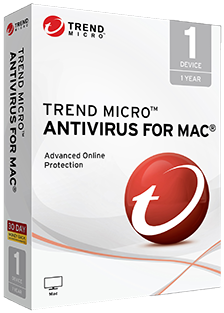Trend Micro™ Antivirus for Mac® - 1 Year, 60 Day <b>Free</b> Trial