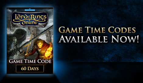 The Lord of the Rings Online™ 60-Day Game Time Code