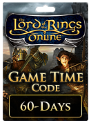 The Lord of the Rings Online™ 60-Day Game Time Card
