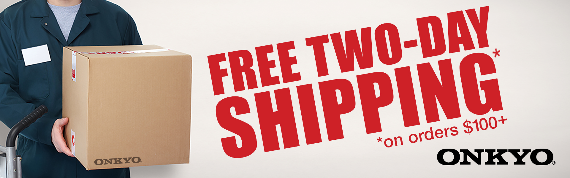 Free 2-Day shipping on all order over $100