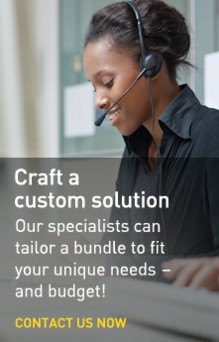 Call or email a Solution Engineer
